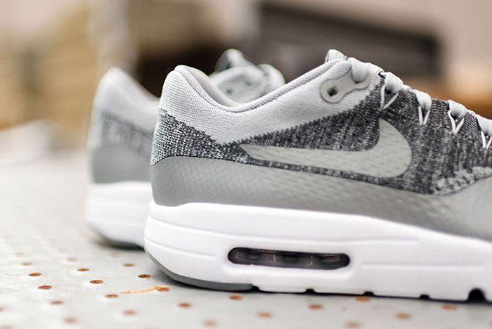 Nike Air Max 1 Flyknit Wolf Grey 5