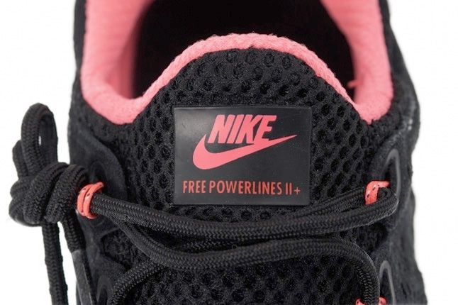 Nike Free Powerlines Ii Black Sail Metallic Silver Tongue 1