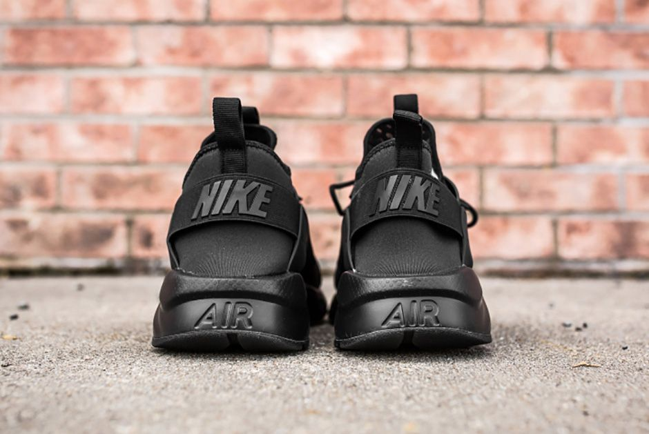 Nike Air Huarache Ultra Br Triple Black 8 1