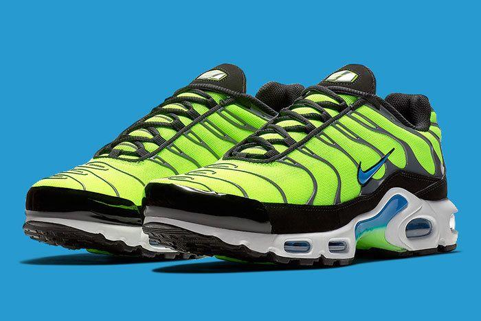 Nike Air Max Plus Scream Green 1