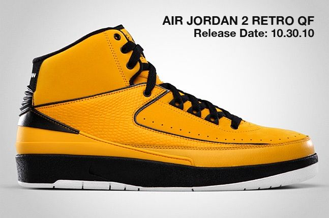 Air Jordan 2 Retro Qf Yellow 1