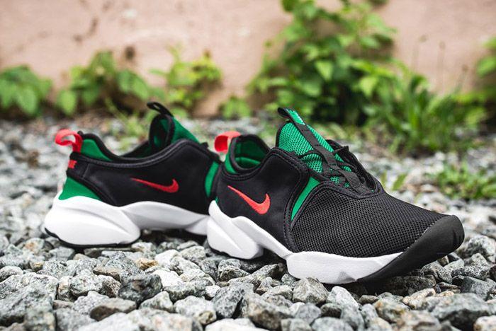 Nike Loden Womens Black Atomic Red Pine Green 7
