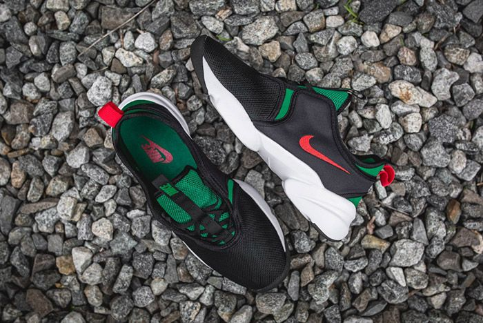 Nike Loden Womens Black Atomic Red Pine Green 6