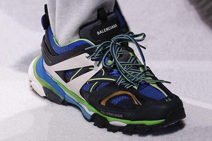 Balenciaga's Trail Shoe Will Light Up