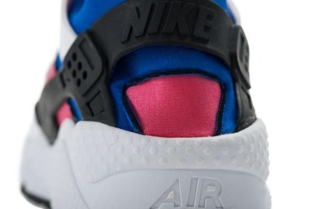 Nike Huarache Og Retro Pink Blue Heel 1