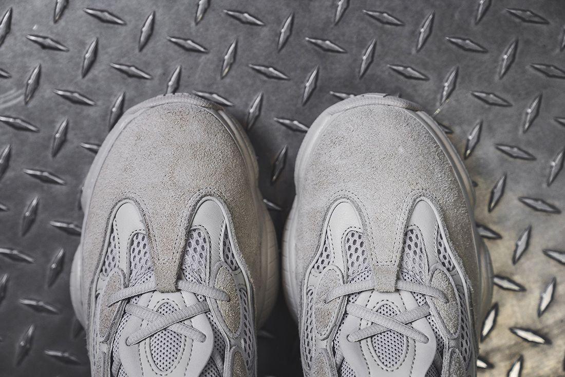 Yeezy Desert Rat 500 On Foot Sneaker Freaker 1
