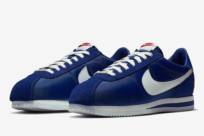 Nike Cortez Los Angeles Blue Toe