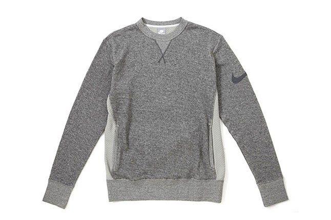 Nike Grey Marle Sweater 1