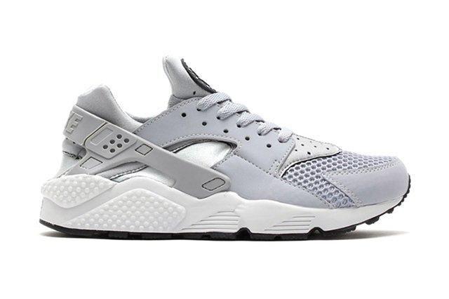 Nike Air Huarache Wolf Grey Pure Platinum