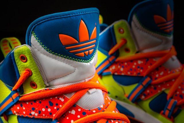 Adidas Og Roundhouse Instinct Volt Tongue Detail