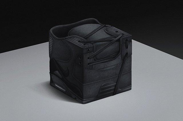 Black Nike Air Max 90 Sneakercube Black Friday Series