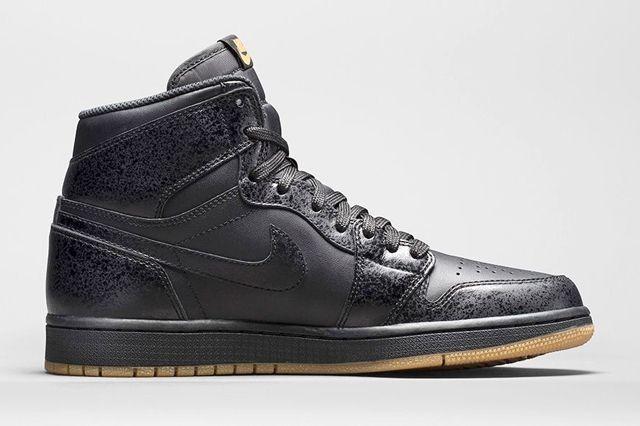 Air Jordan 1 High Black Gum Bump 6