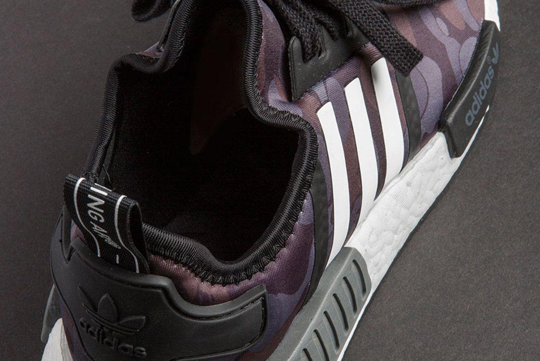 Bape Adidas Nmd 1 St Camo Black 6