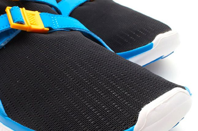 Nike Free Sock Racer Candy Pack Photo Blue Toes 1