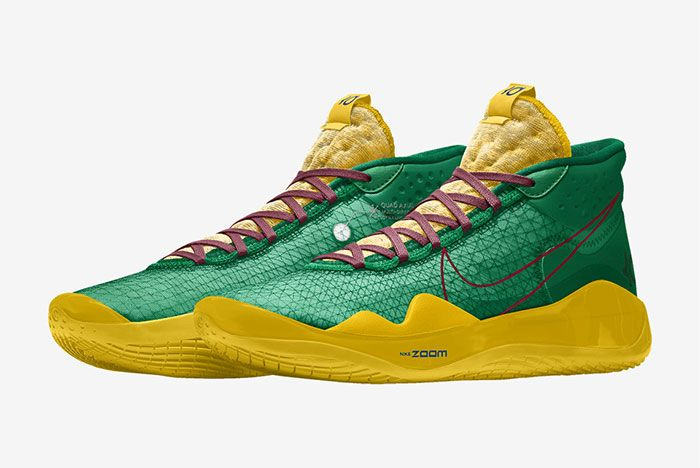 Nike Kd 12 Nike By You Green Left