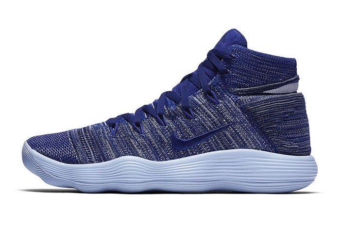 Nike Hyperdunk React 2017 Flyknit Royal Blue 1