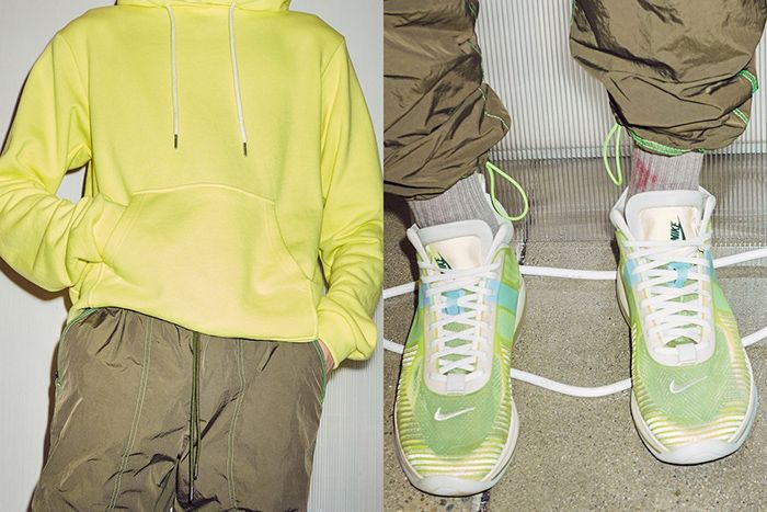 John Elliott Nike Lebron Icon Volt Sprite Pre Fw19 Lookbook Brown