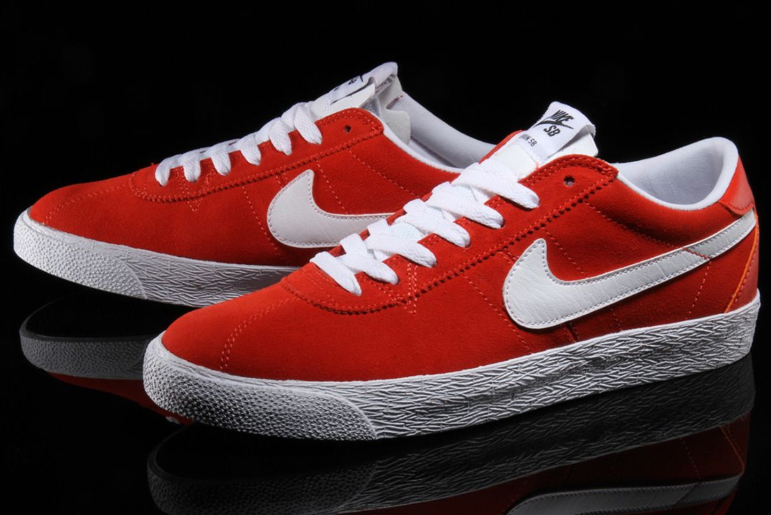 Nike Sb Zoom Bruin Premium Se Max Orange 1