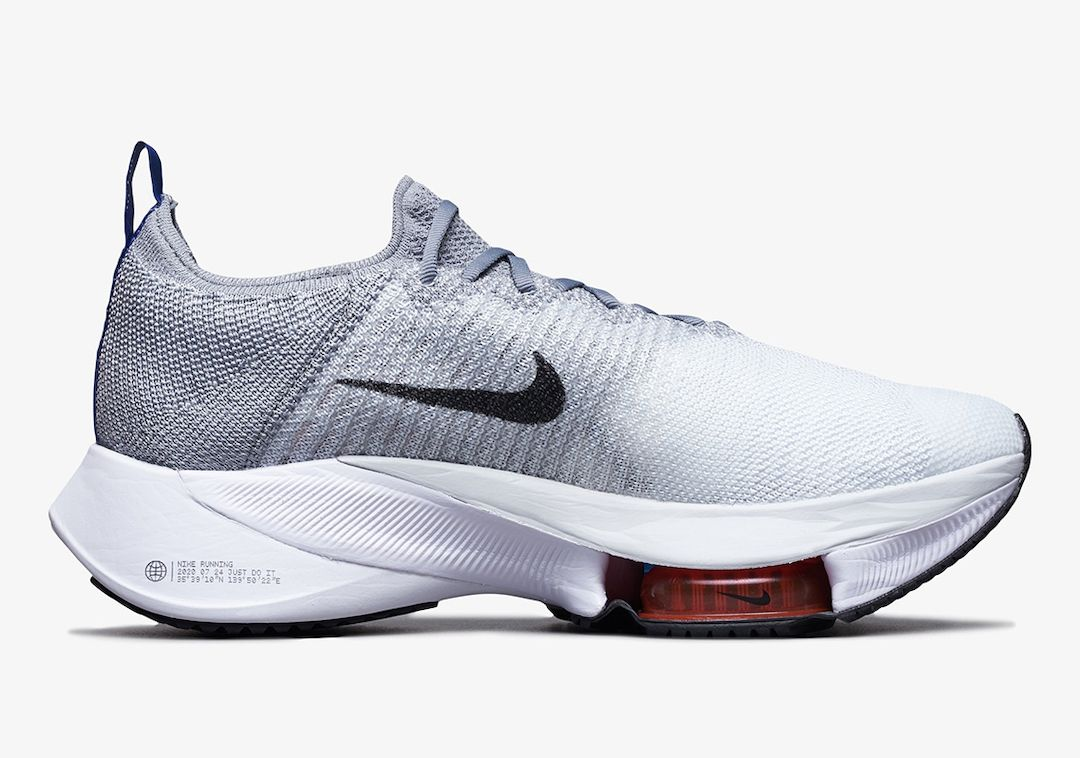 Nike Air Zoom Tempo NEXT% Grey Right