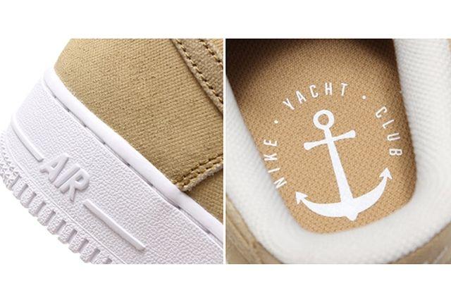 Nike Air Force 1 Canvas Yacht Club Khaki 1