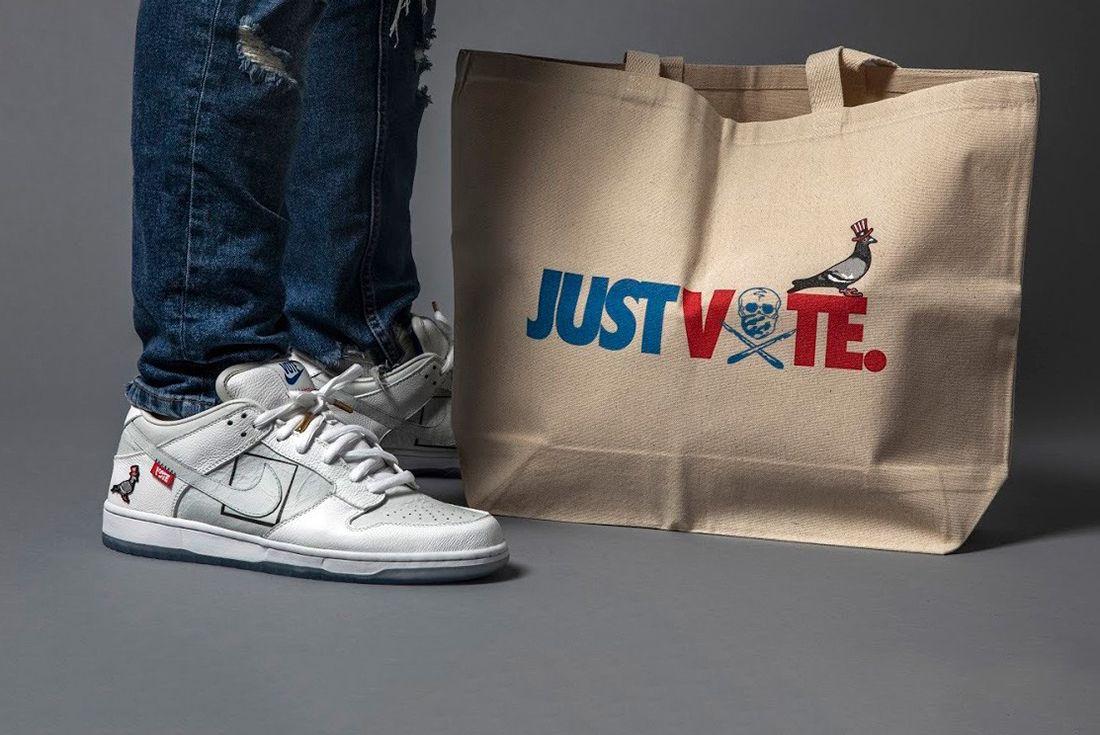 shoe surgeon jeff staple dunk low just vote