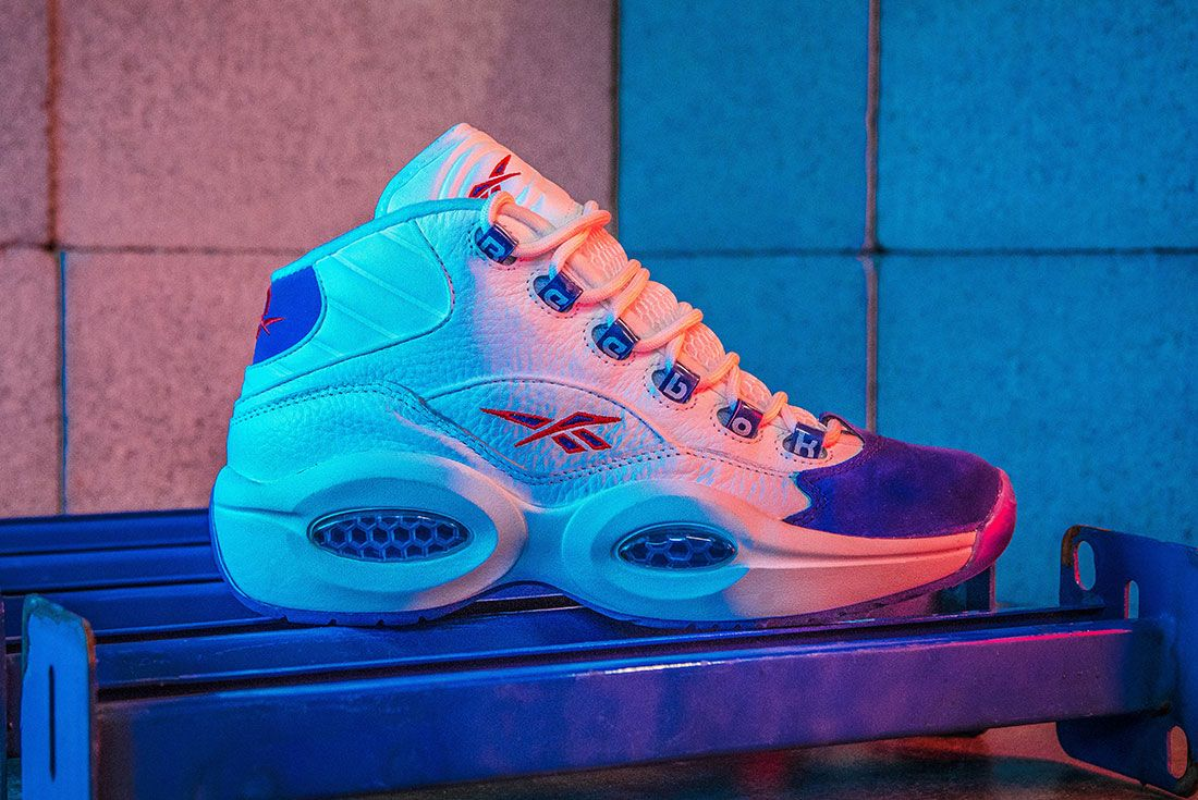 Reebok Question Mid Double Cross Sneaker Freaker Hero Shot8
