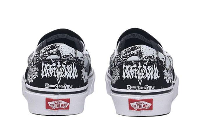 Vans Slip On Heavy Metal Heel