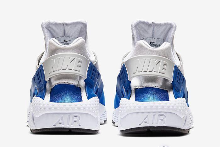 Nike Dna Series 87 X 91 Air Huarache Sport Royal Heel