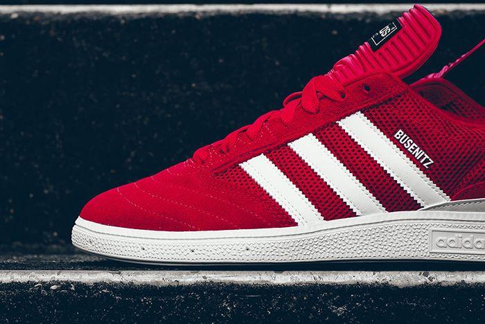 Adidas Busenitz Red Mesh 4
