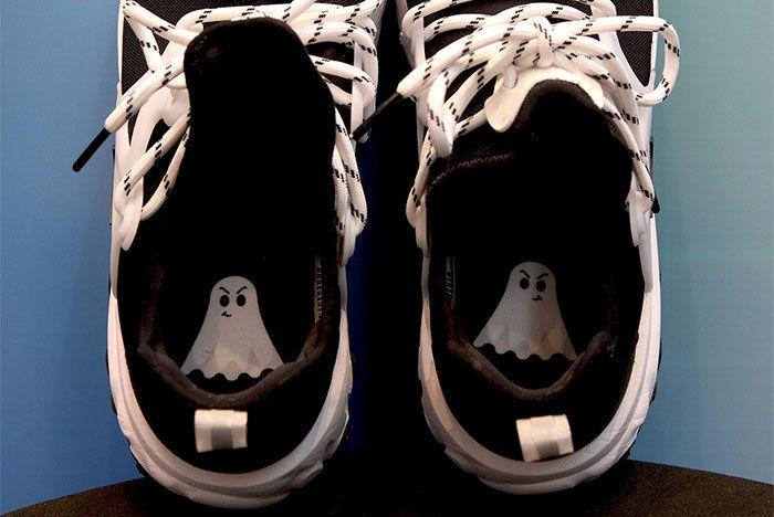 Nike React Presto Black White Ghost Insole Shot 1