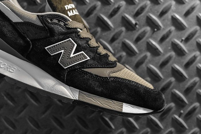 New Balance 998 Made In Usa Black Olive 1