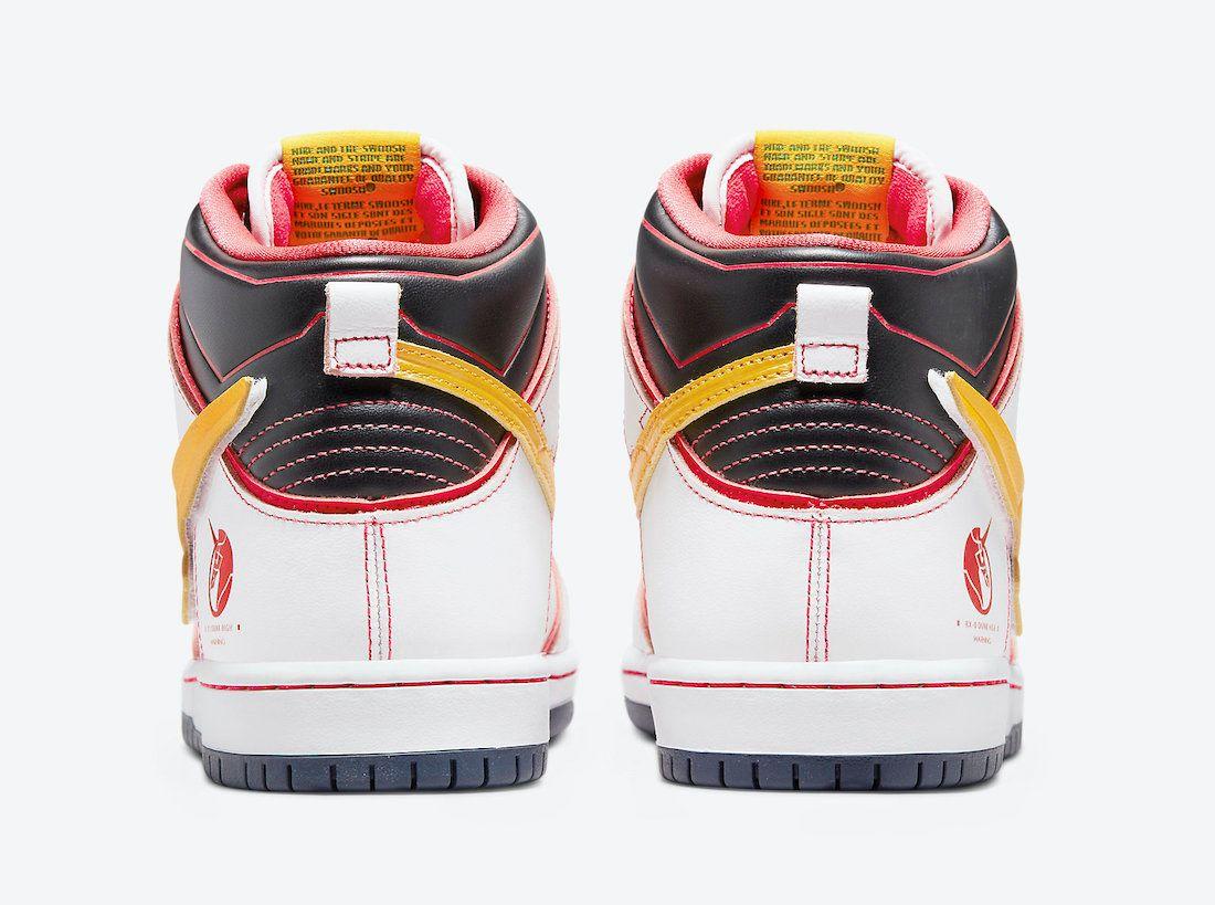 Gundam-Nike-SB-Dunk-High-project white unicorn