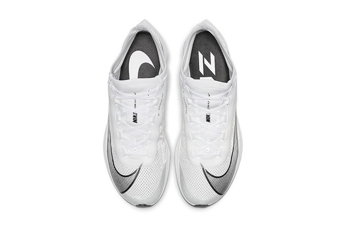 Nike Zoom Fly 3 White Black At8240 100 Release Date Top Down