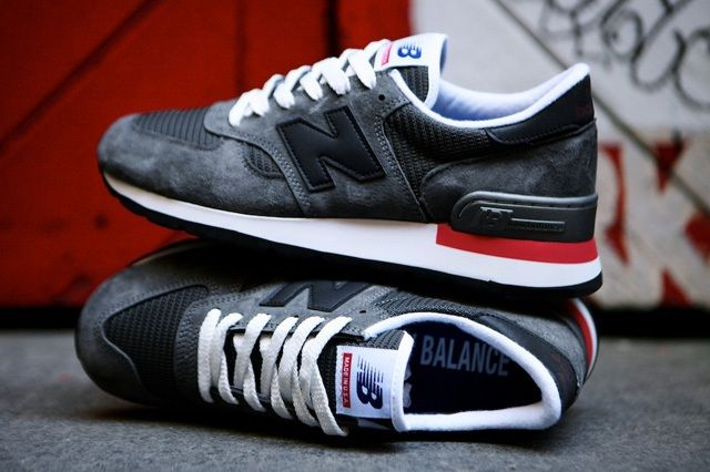 New Balance 990 Made In Usa Charcoal Grey 6