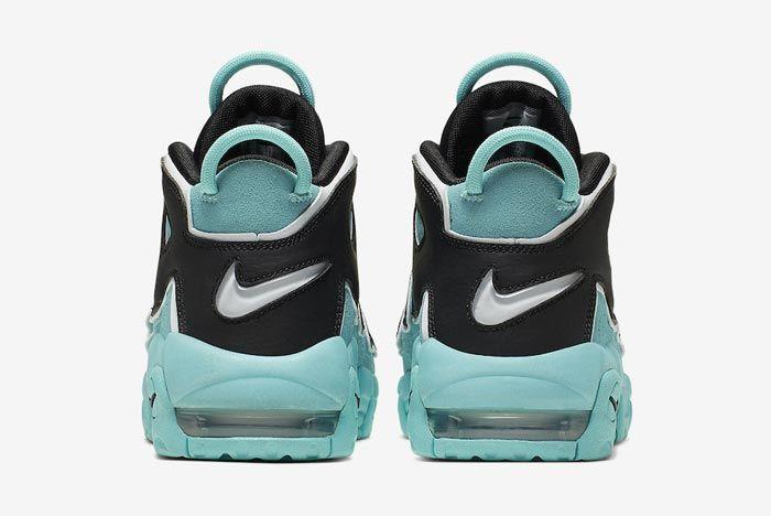 Nike Air More Uptempo Gs Light Aqua Heels