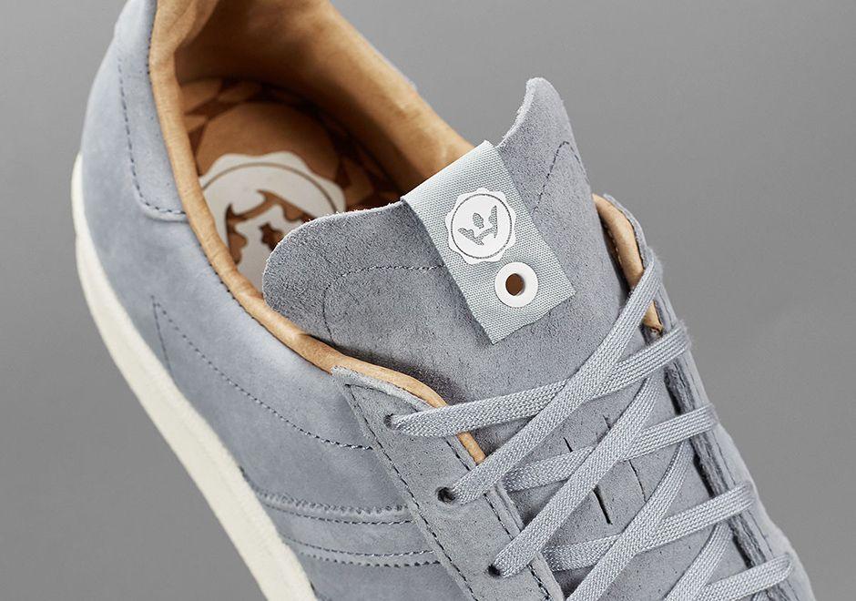 High Snobiety Adidas Campis 80S Grey 1