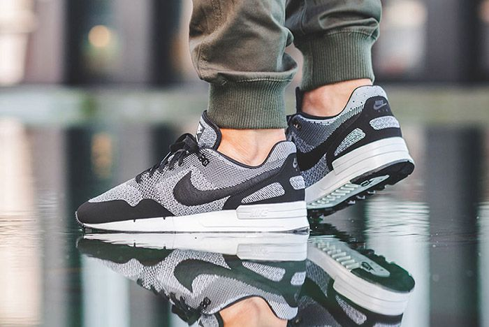 Nike Air Pegasus 89 Jacquard Black White 3