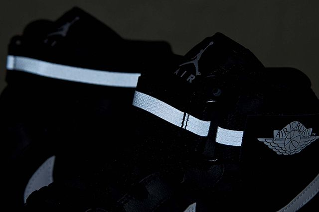 Air Jordan 1 High Strap Black White 4