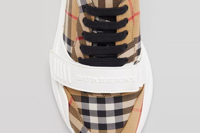 Burbery Vintage Check Sneaker 2
