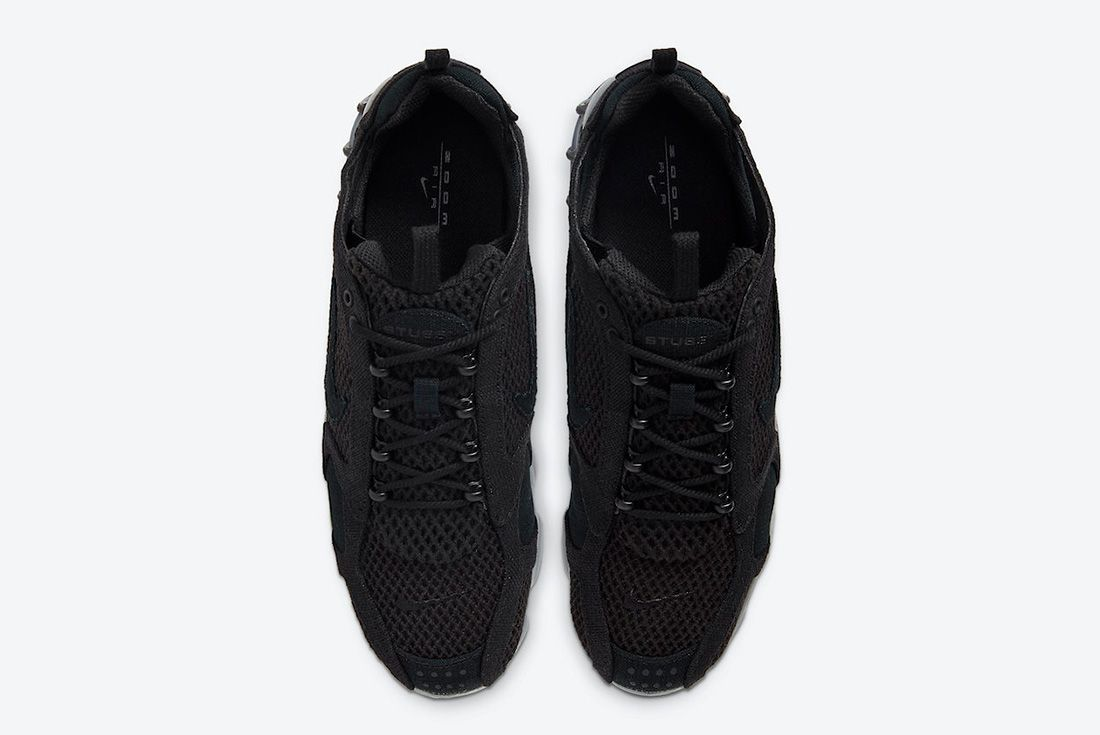 Stussy x Nike Air Zoom Spiridon Cage 2 Black Top