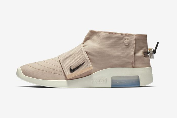 Nike Air Fear Of God Moc Particle Beige At8086 200 Release Date Lateral