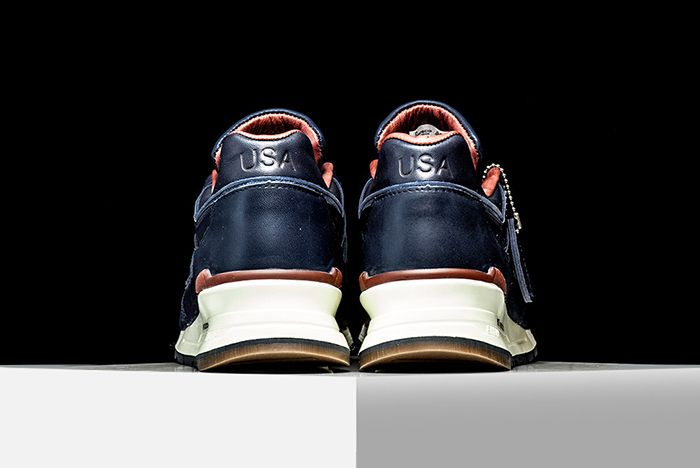 New Balance 997 Horween Leather Navy3