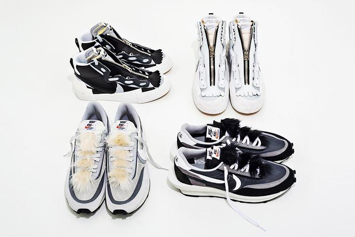 Sacai X Nike Collection Accessories Off Foot