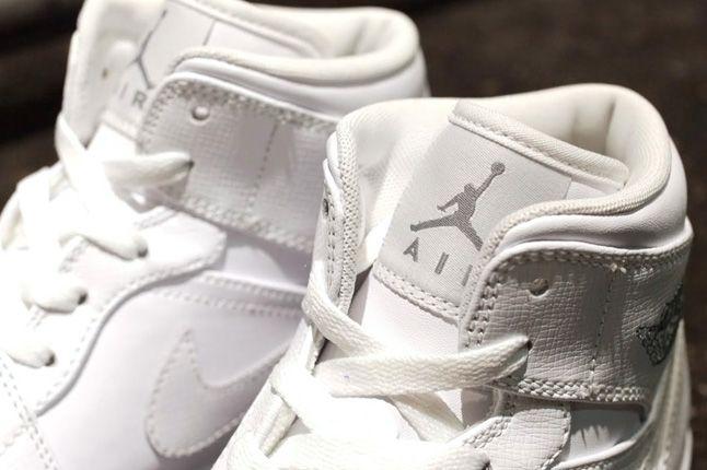 Air Jordan 1 White On White Laces 1