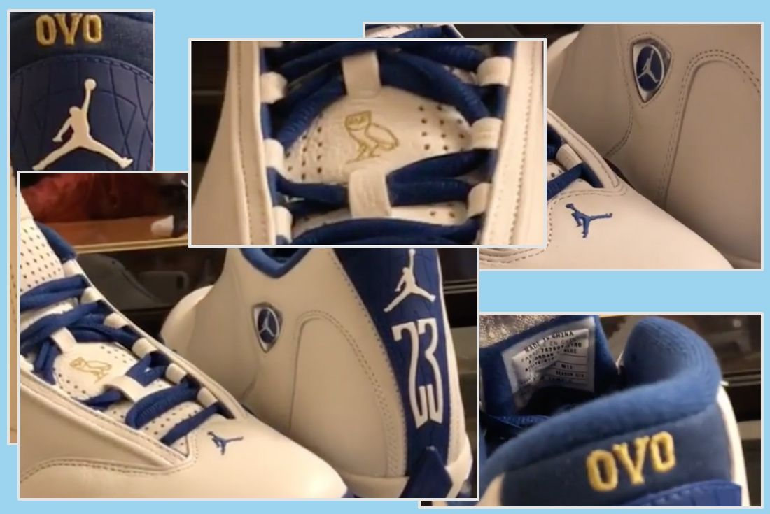 Drake Air Jordan 14 1