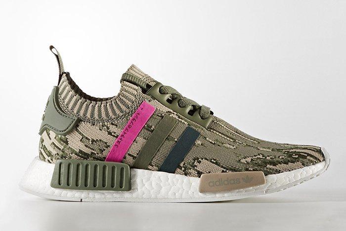 Adidas Nmd R1 Pk Shock Pink 1