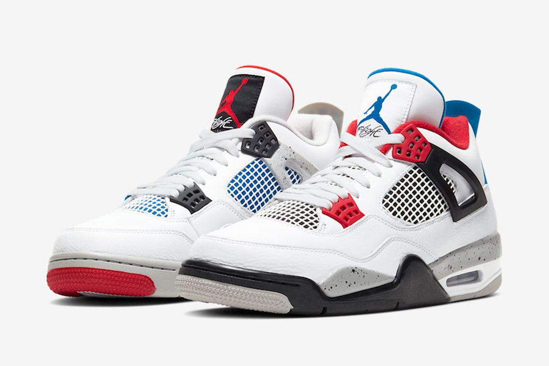 Air Jordan 4 What The 2019 Angled