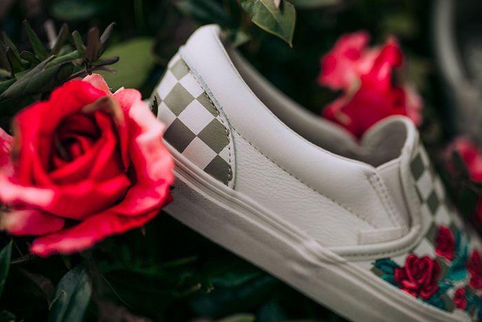 Vans Slip On Roses Sneaker Freaker 3