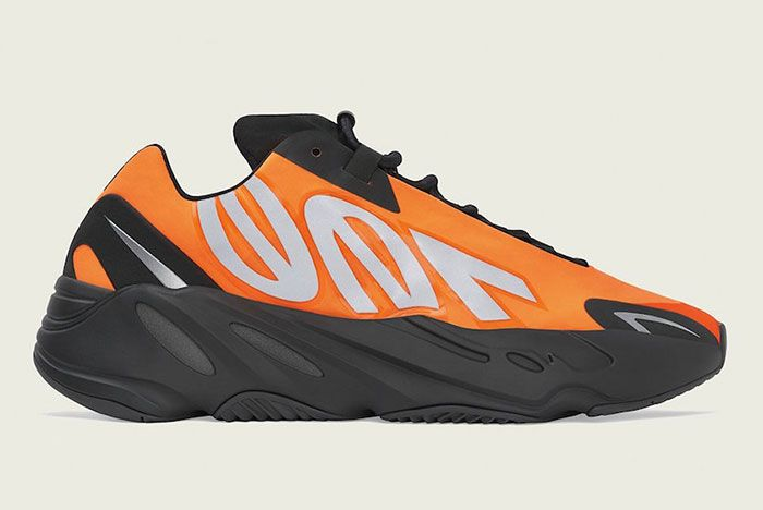 Adidas Yeezy Boost 700 Mnvn Orange Fv3258 Lateral Side Shot