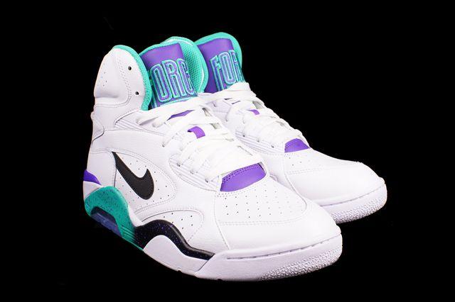Nike Air Force 180 High Atomic Teal 2